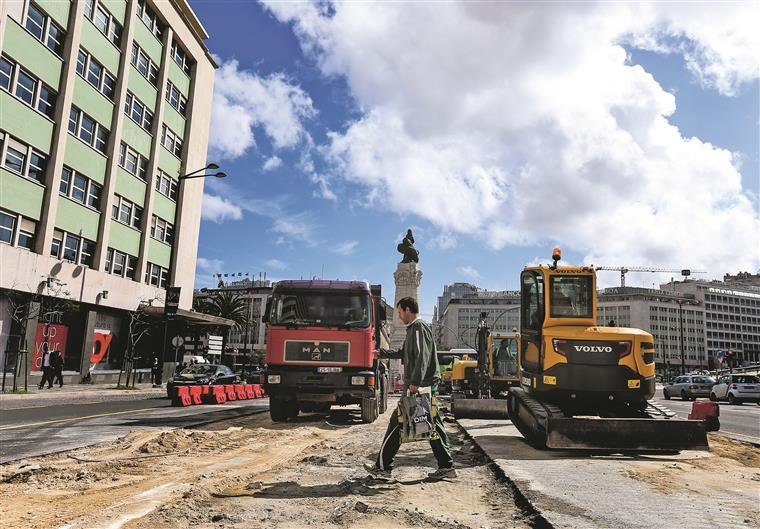 Esta sexta-feira no i: dossiê especial sobre as obras em Lisboa