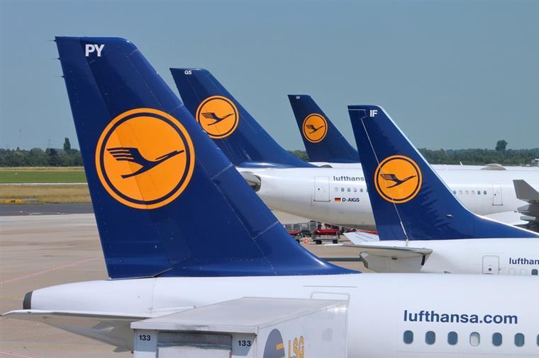 Greve de pilotos na Lufthansa custa milhões