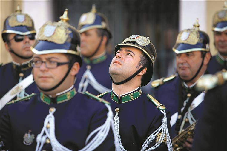 GNR. Militares sem funções podem ficar sem salário