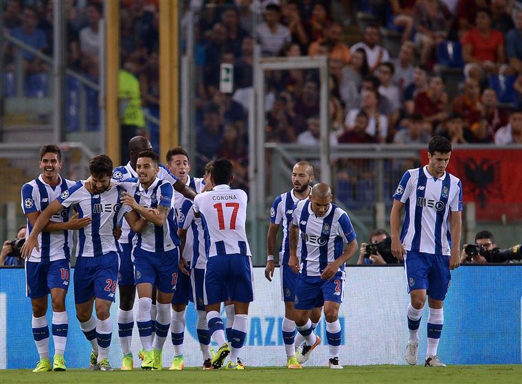 FC Porto na fase de grupos da Liga dos Campeões após vitória em Roma
