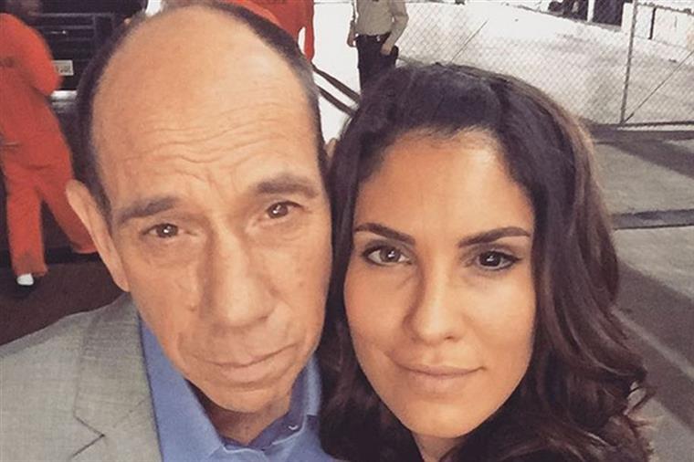 Daniela Ruah reage à morte do colega Miguel Ferrer