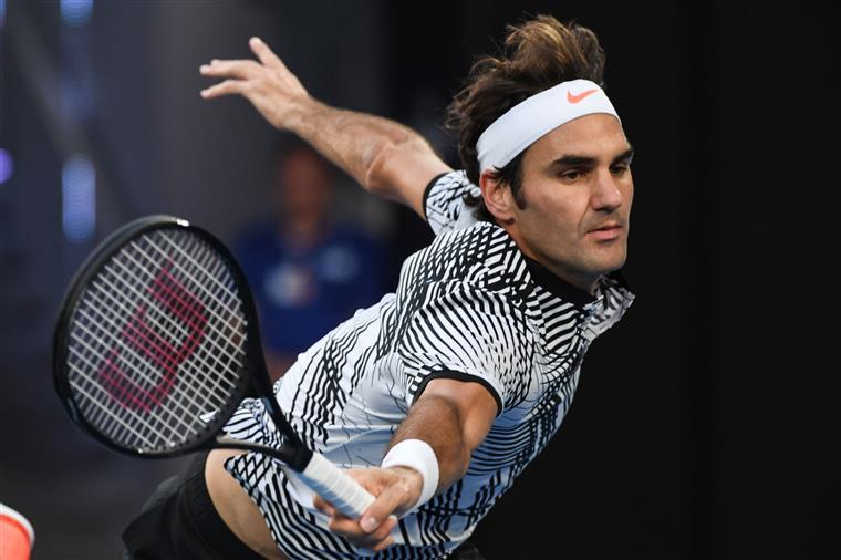 Federer nas meias-finais do Open da Austrália