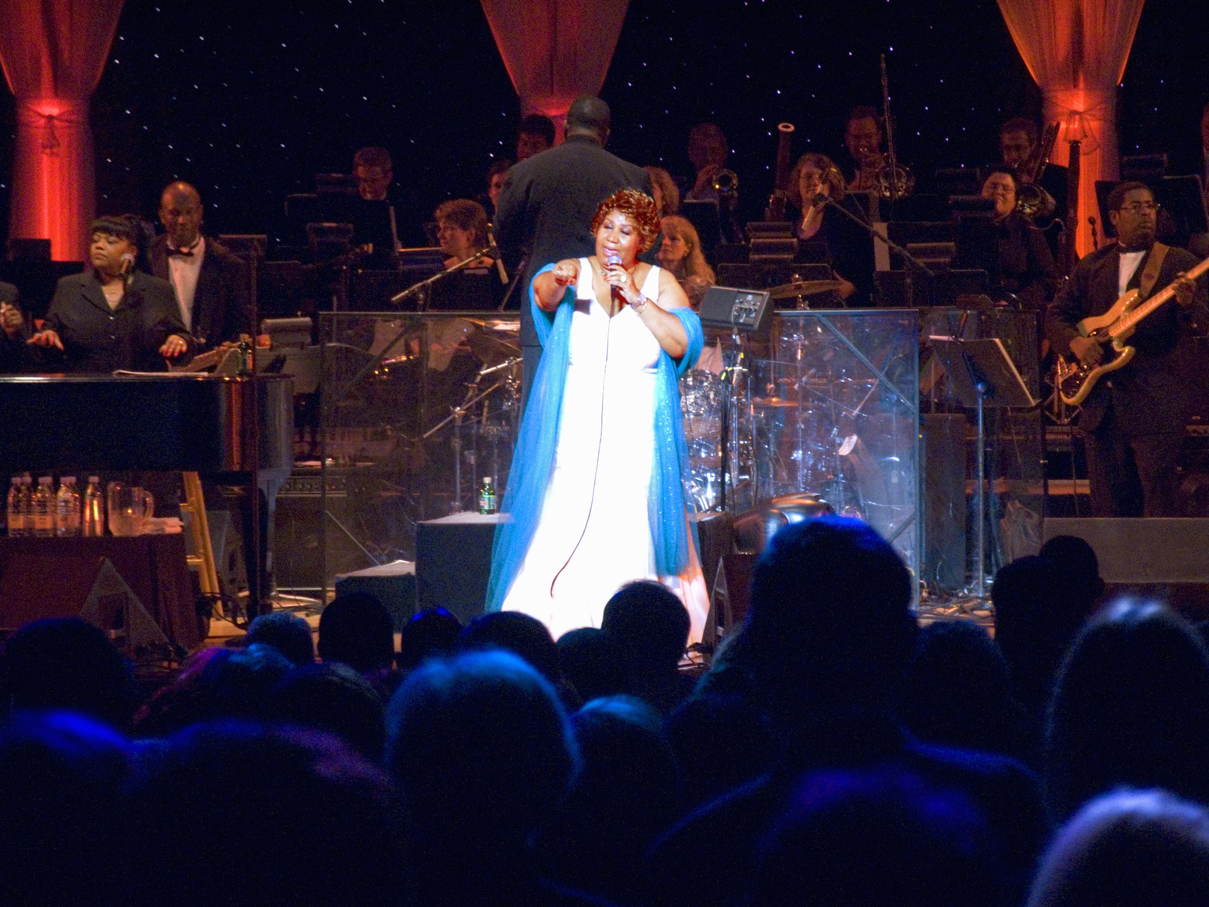 Aretha Franklin anuncia reforma (mas antes ainda grava novo disco)