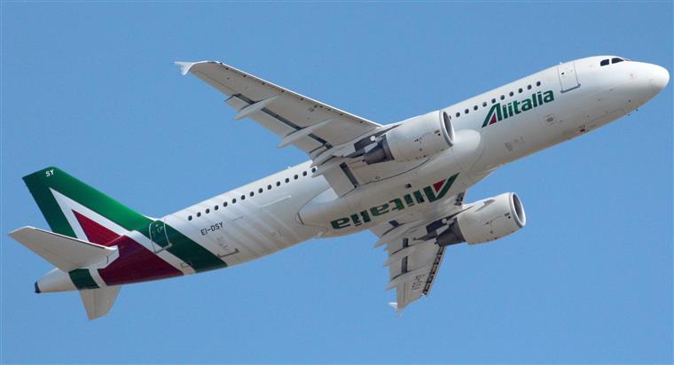Alitalia em risco de falir