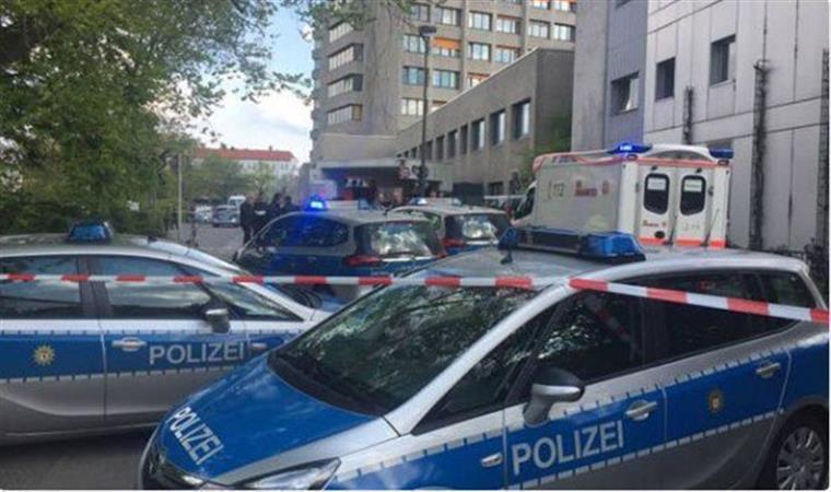 Tiroteio faz um ferido em hospital de Berlim