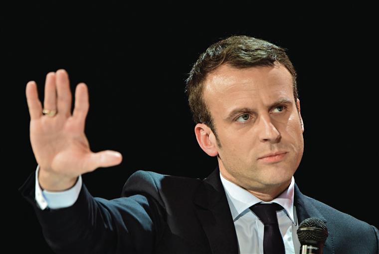 Empresários apelam ao voto em Emmanuel Macron